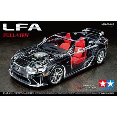 Tamiya 24325 Lexus Lfa Full-View 1:24 Car Model Kit