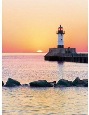 Sunset to the Lighthouse - 500 pc Puzzle