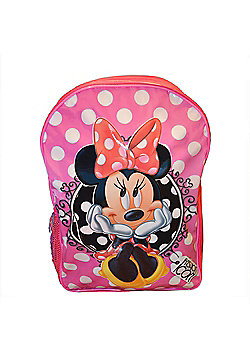 Minnie Mouse Fashion Icon PVC Front Backpack