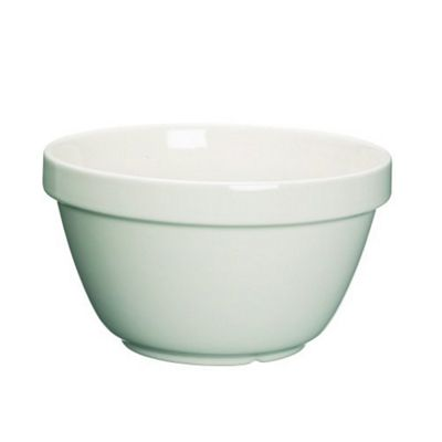 Large Stoneware Pudding Basin, 17cm, 1L