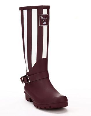 Evercreatures Ladies Evergreen Knee Wellies New York in Purple - Size 7 (UK)