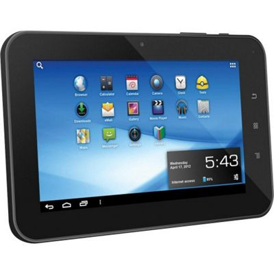 Aluratek AT107F CINEPAD 7 inch Multi-Touch Capacitive Tablet with Android 4.0