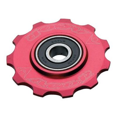 Acor 11T CNC Alloy Jockey Wheel, Red
