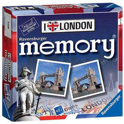 I Love London Mini Memory Game Puzzle