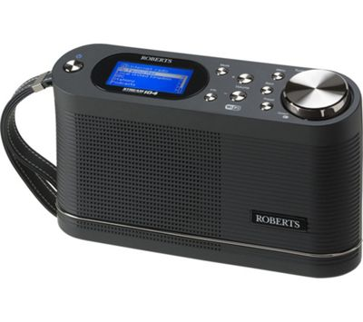 Roberts STREAM104 Internet Radio - Black