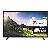 Finlux 49 Inch Ultra HD 4K Smart LED TV with Freeview Play - Black