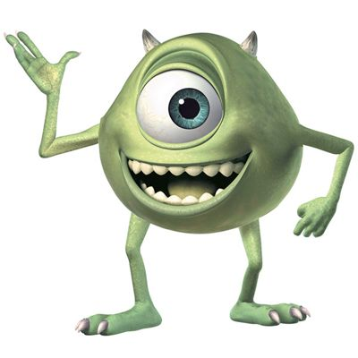 Disney Monsters Inc. Giant Mike Wall Stickers