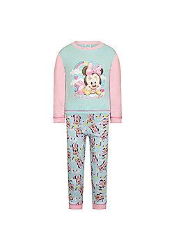 Disney Mickey Minnie Mouse Baby Pyjamas - Pink
