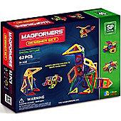 Magformers Designer 62 Piece Magnetic Construction Set