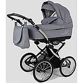 DaVos Classic ML Retro 2 in 1 Pushchair (Grey)