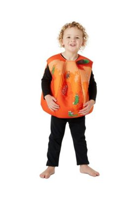 James and the Giant Peach Fancy Dress Costume Orange 7-8 years