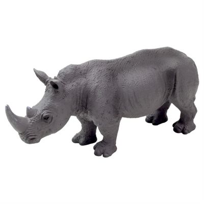 Realistic White Rhinoceros Figurine Toy by Animal Planet