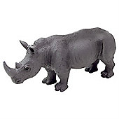 Realistic White Rhinoceros Figurine Toy by Animal Planet