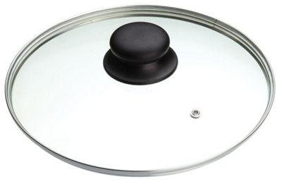 Kitchen Craft Master Class Glass Saucepan Lid - 26cm
