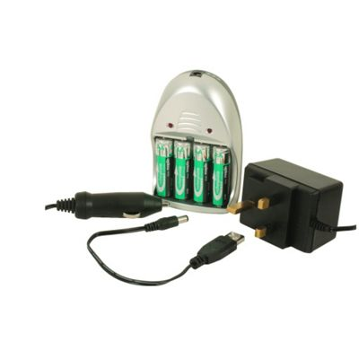 3-in-1 Battery Charger