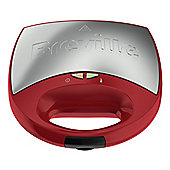 BREVILLE-VST078 DuraCeramic 2 Slice Sandwich Toaster in Red