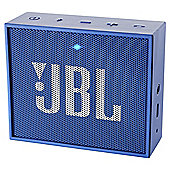 JBL Go Portable Rechargeable Bluetooth Speaker - Blue