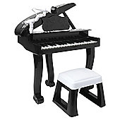 Carousel Let's Play Grand Piano Black