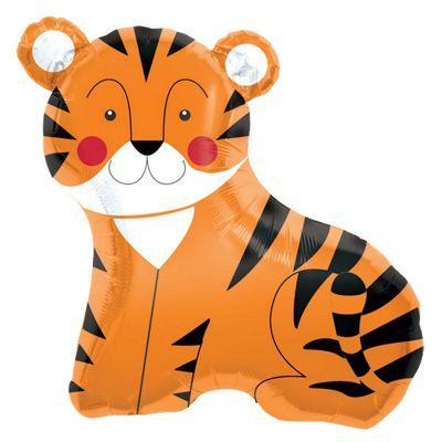 Tiger Balloon - 33 inch Foil