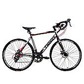 Tiger Quantum 4.0 700c Unisex Road Bike Black Red