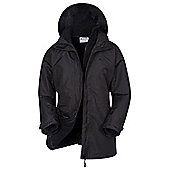 Mountain Warehouse Fell Womens 3 in 1 Water-Resistant Jacket - Black
