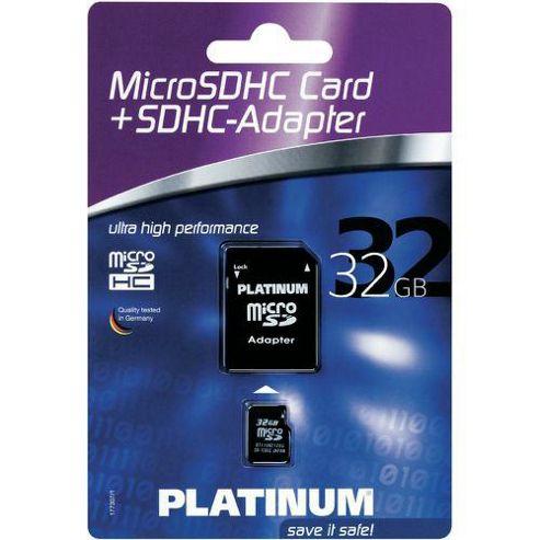 Platinum Card Micro SDHC 32GB
