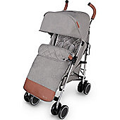 ickle bubba Discovery Prime Stroller (Grey on Silver)