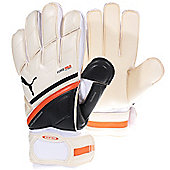 Puma King Regular Cut Mens Goalkeeper Goalie Glove - White