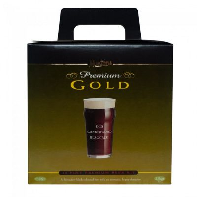 Muntons Hand Crafted Home Brew Beer Kit - Old Conkerwood Ale - 40 Pints