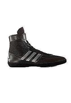 adidas Combat Speed 5 Mens Adult Wrestling Trainer Shoe Boot Black - Black