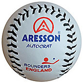 Aresson Autocrat Leather Rounders Match Ball