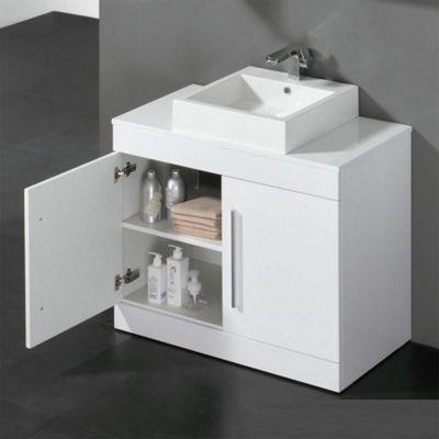 Buy Prestige Paris FloorMounted Bathroom Vanity Unit Mm High X - Bathroom vanities floor mounted