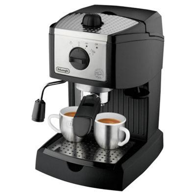DeLonghi EC155 Espresso Coffee Machine, Black