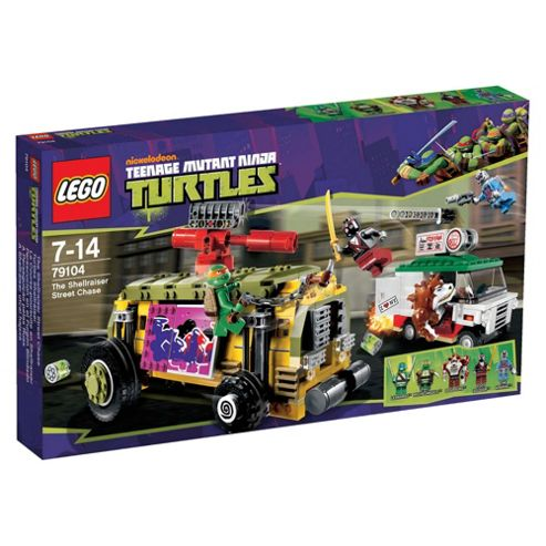 LEGO Teenage Mutant Ninja Turtles The Shellraiser Street Chase 79104