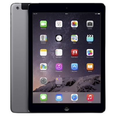 iPad Air, 16GB, WiFi & 4G LTE (Cellular) - Space Grey