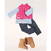 Our Generation Treking Star Doll Regular Outfit