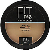 Maybelline Fit Me Matte + Poreless Powder 8.5g - Ivory