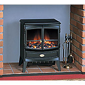 Springbourne SBN20R Stove Fire Optiflame® Effect, Black