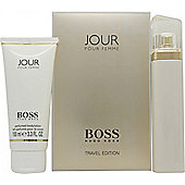 Hugo Boss Boss Jour Pour Femme Gift Set 75ml EDP + 100ml Body Lotion For Women