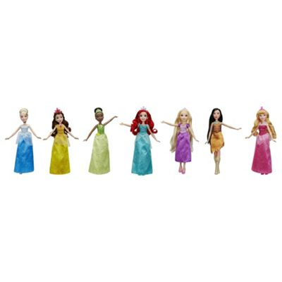 Disney Princess 7 Dolls Pack
