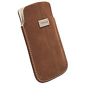 Krusell Luna Nubuck Pouch/ Sleeve│Protective Leather Mobile Phone Case/Cover-XXL