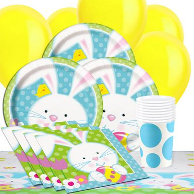 Easter Bunny Party Pack - Value 8 Pack