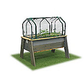 EXIT Aksent Kids Planter Table L Deluxe with Greenhouse