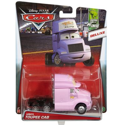 Disney Cars Pixar Die-Cast Oversized Toupee Cab