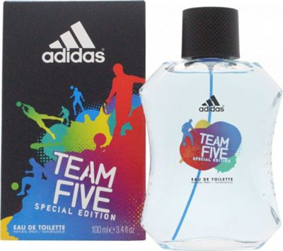 Adidas Team Five Eau de Toilette (EDT) 100ml Spray For Men