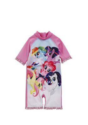 Hasbro My Little Pony UPF 50+ Surfsuit Pink 18-24 months