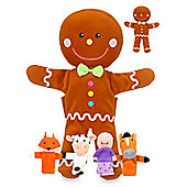 Fiesta Crafts Gingerbread Man Hand & Finger Puppets