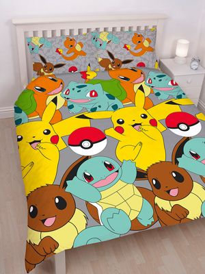 Pokémon Catch Double Duvet Cover Set