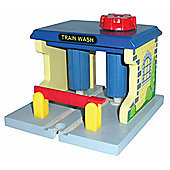 Toys for Play Train Wash for Wooden Railway Train set 50964