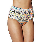 Vero Moda Polka Dot High Waisted Bikini Briefs - Multi